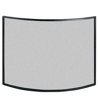 Calfire 3 Fold Narrow Curved Large Fire Screen