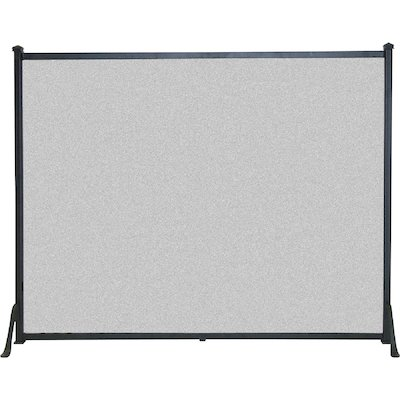 Calfire 3 Fold Plain Flat Small Fire Screen