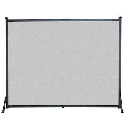 Calfire 3 Fold Plain Flat Large Fire Screen