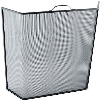 Calfire Noble Bent Large Fire Screen