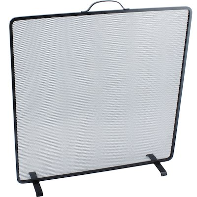 Calfire Noble Flat Square Large Fire Screen