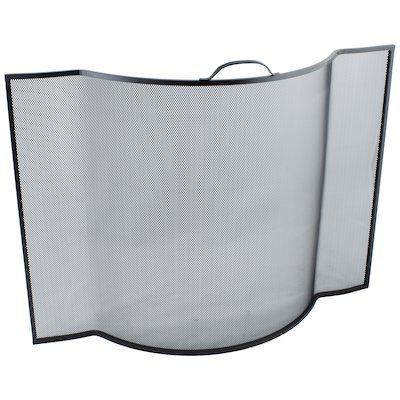 Calfire Noble Flat Sided Bowed Fire Screen
