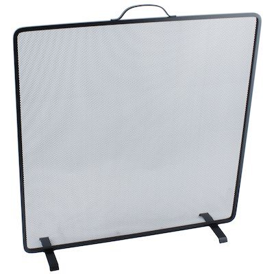 Calfire Noble Flat Square Small Fire Screen