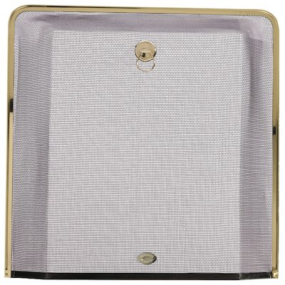 Calfire Square Small Sparkguard Fire Screen
