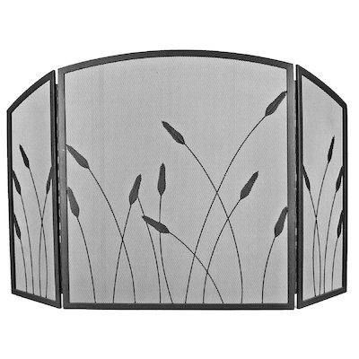 Manor Bullrush 3 Fold Fire Screen