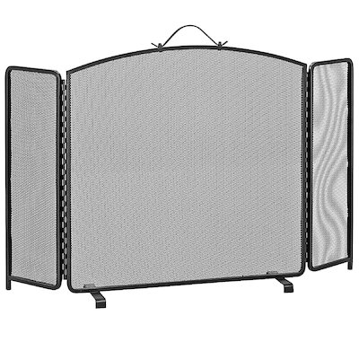 Manor Classic 3 Fold Arch Large Fire Screen