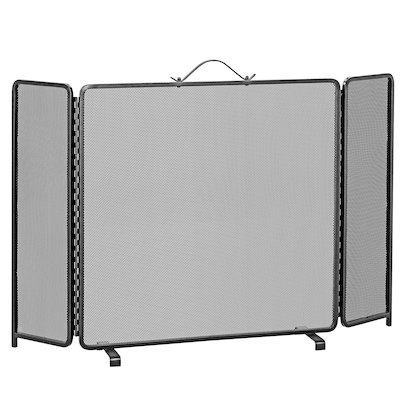 Manor Classic 3 Fold Medium Fire Screen