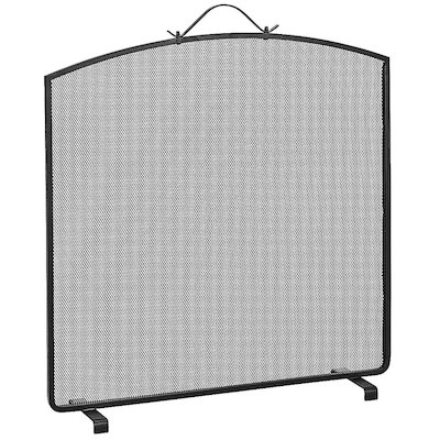 Manor Classic Arch Single Large Fire Screen
