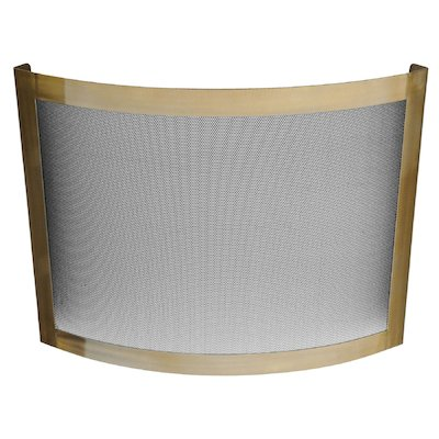 Manor Classic Crescent Fire Screen