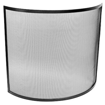 Manor Curved Small Fire Screen