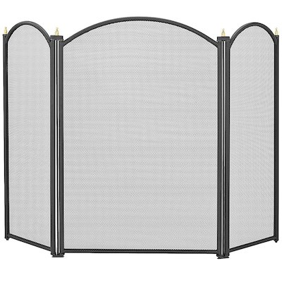 Manor Dynasty 3 Fold Small Fire Screen