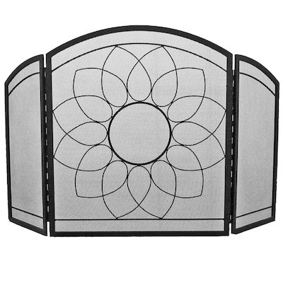 Manor Sunflower 3 Fold Fire Screen