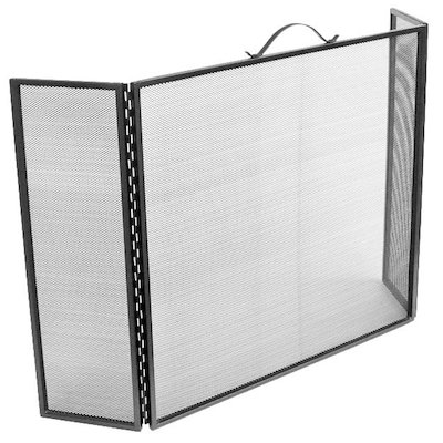 Manor 3 Fold Fire Screen