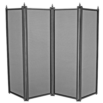 Manor Regency 4 Fold Fire Screen