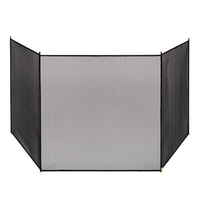 Vermont 3 Fold Large Fire Screen