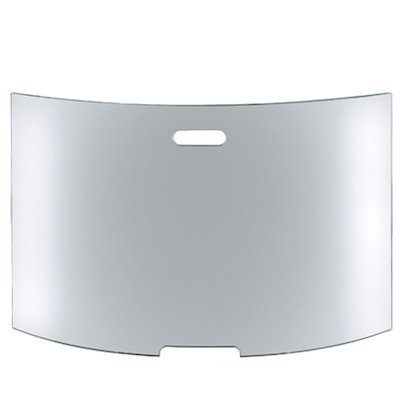 Conmoto Mentas Large Curved Glass Firescreen