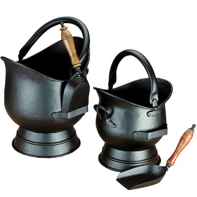 Calfire Hadley Coal Buckets - Set of 2