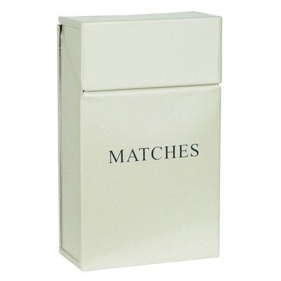 Manor Box Match Holder - With Lid
