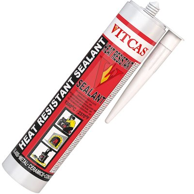 Vitcas Heat Resistant Sealant 310ml Cartridge