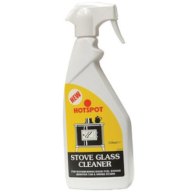 Hotspot Stove Glass Cleaner 750ml Trigger Bottle