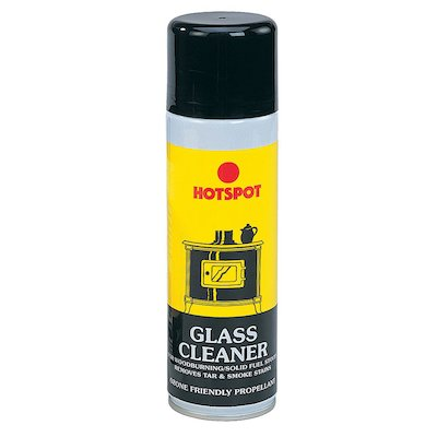 Hotspot Stove Glass Cleaner 320ml Aerosol Bottle