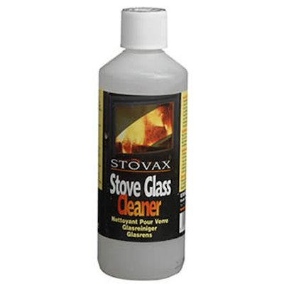 Stovax Stove Glass Cleaner Gel 500ml Bottle