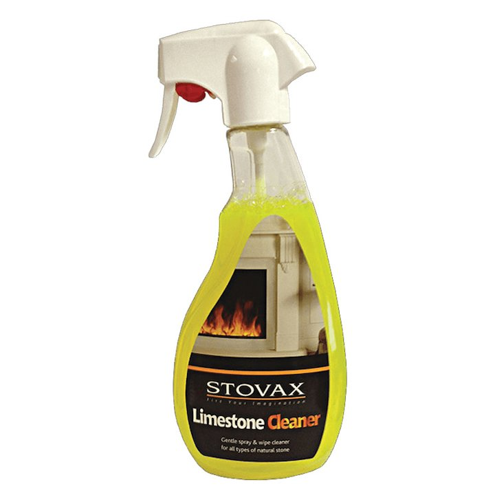 Stovax Limestone Cleaner 500ml Trigger Bottle - Lime Green
