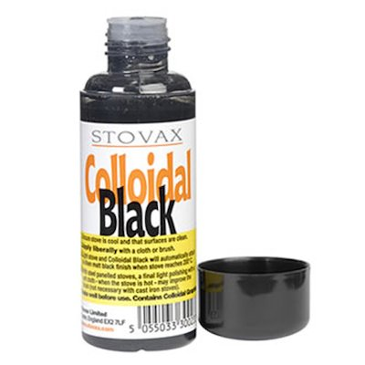 Stovax Colodial Black Liquid Polish