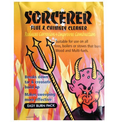 Sorcerer Chimney Cleaning Sachets 90g Packets
