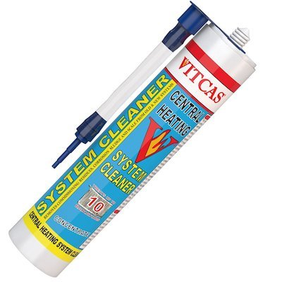 Vitcas Central Heating System Cleaner Concentrate 310ml Cartridge