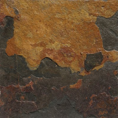 Gazco Burnt Sienna Slate Fireplace Tiles