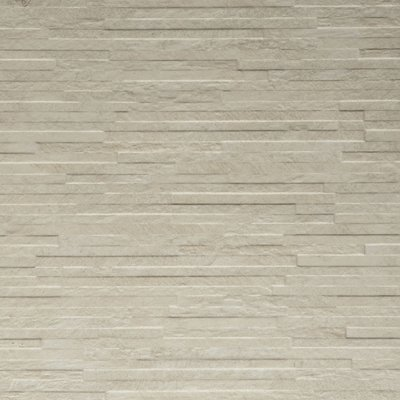 Gazco Chiara Bianco Slate Porcelain Fireplace Tiles White Mosaic Effect