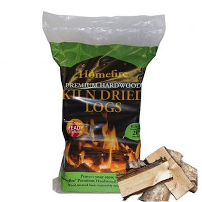 EVA Kiln Dried Hardwood Logs - 10KG Bag