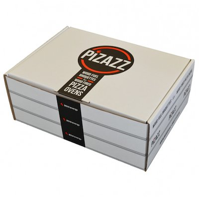 BSW Pizazz Chestnut Pizza Oven Heatlogs - Single Pack