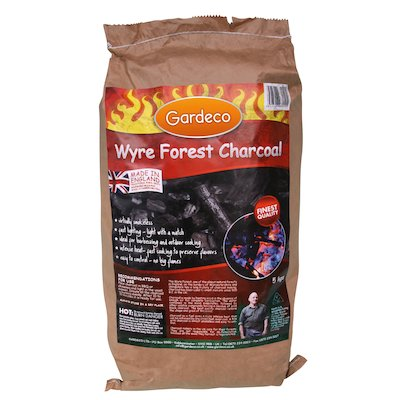Gardeco Wyre Forest Charcoal - 5KG Bag
