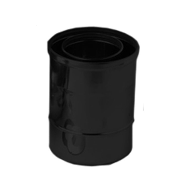 Gazco 200mm Length Balanced Flue Pipe - Anthracite