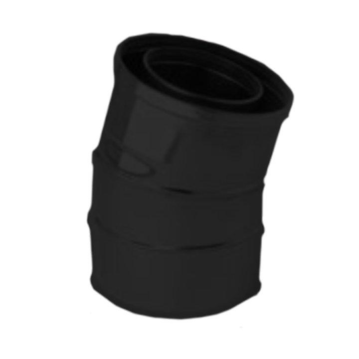 Gazco 15/165° Bend Balanced Flue Pipe - Anthracite