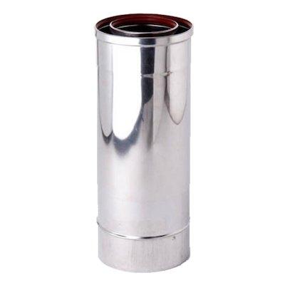 Gazco 365-555mm Adjustable Length Balanced Flue Pipe