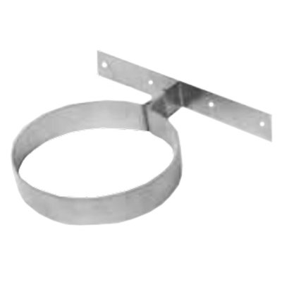 Gazco Fixed Wall Support Plate - Balanced Flue Pipe