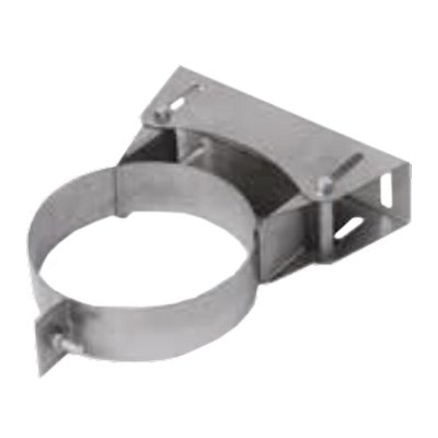 Gazco Adjustable Wall Support Plate - Balanced Flue Pipe