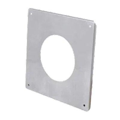 Gazco External Wall Finishing Plate - Balanced Flue Pipe
