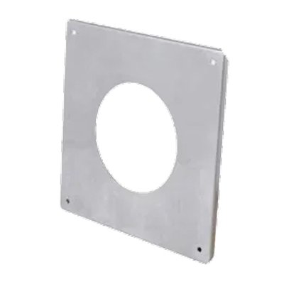 Gazco External Wall Finishing Plate - Balanced Flue Pipe