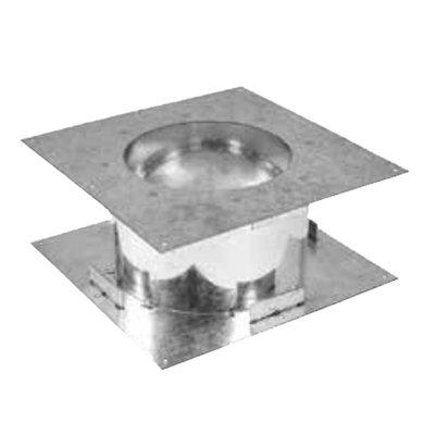 Gazco Fire Stop Plate - Balanced Flue Pipe