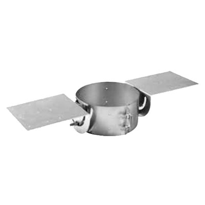 Gazco Roof Support Plate - Balanced Flue Pipe