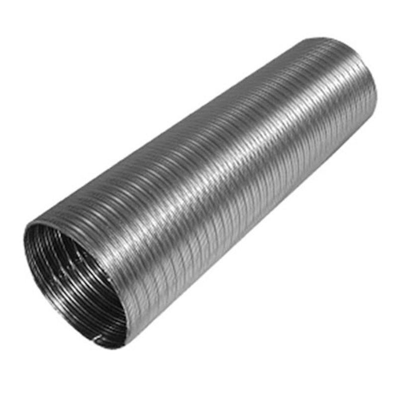 Quattro Plus Solid Fuel 316/316 Chimney Liner per M - Silver Filigree
