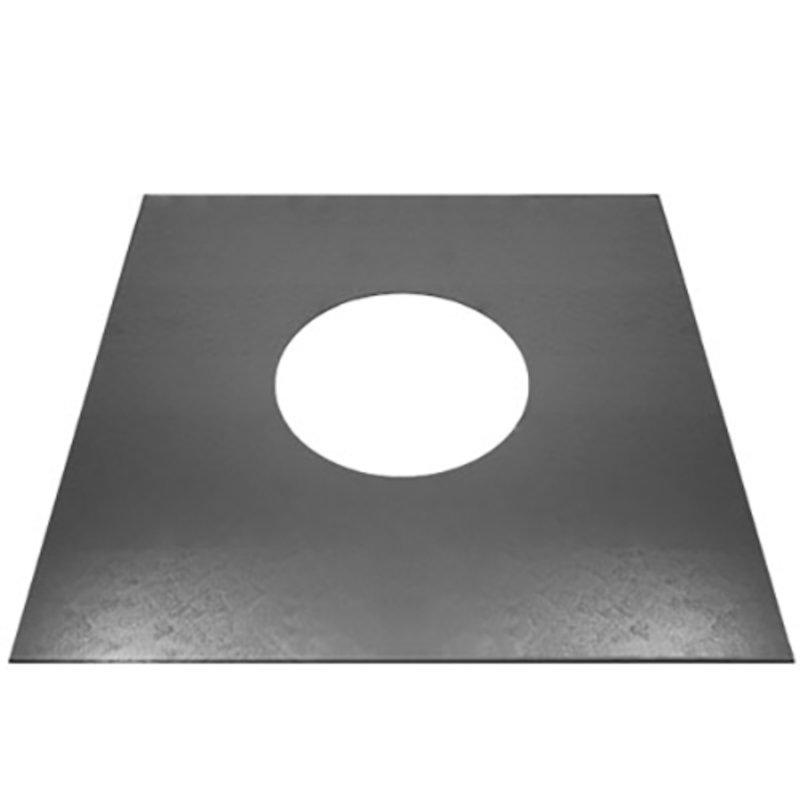 Quattro Plus Solid Fuel Top Plate - Silver Filigree