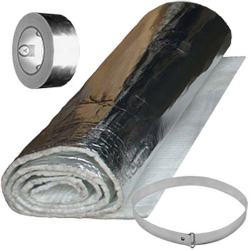 Quattro Plus Insulation 10m Flexwrap Blanket Kit - Silver Filigree