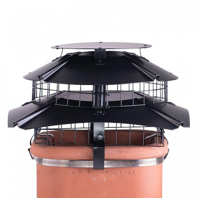 Brewer Ultimate Square Flue Cowl