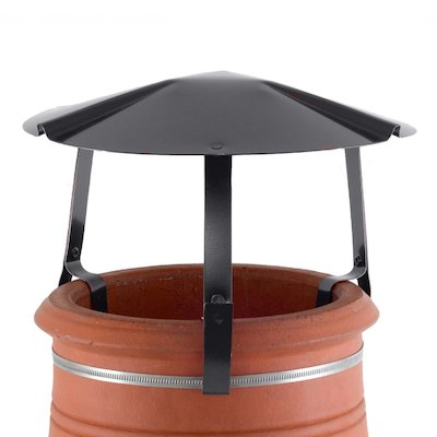Brewer Chimney Pot Simple Rain Cap