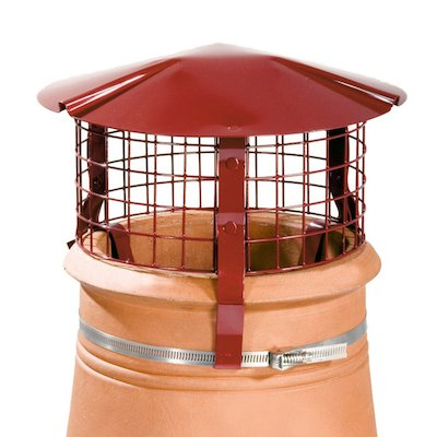 Brewer Chimney Pot Simple Birdguard Terracotta Solid Fuel Stoves Round Top